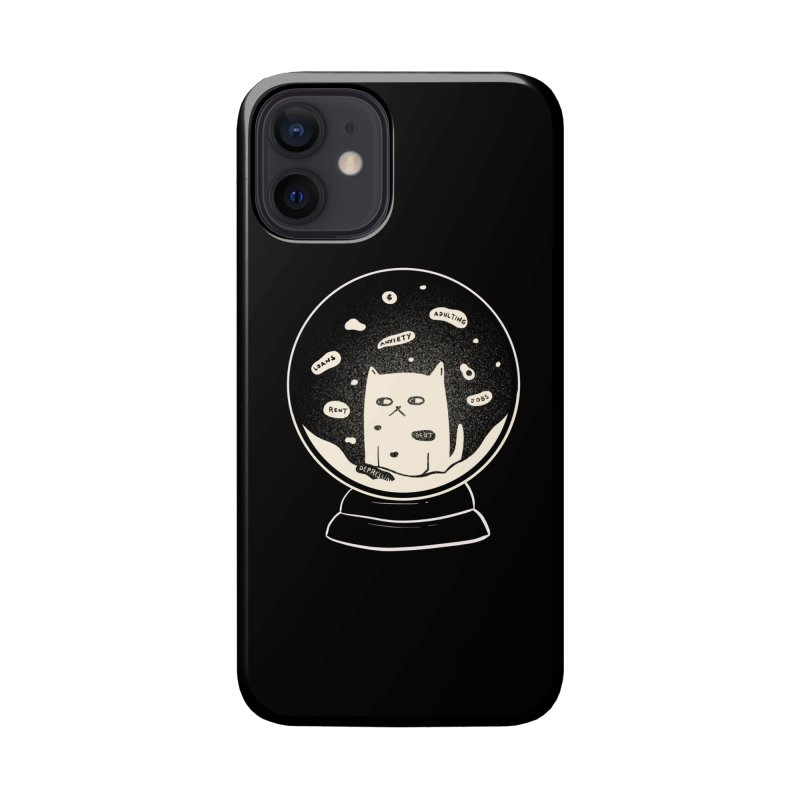 Millenial Snow(flake) Globe Accessories Phone Case by agrimony // Aaron Thong
