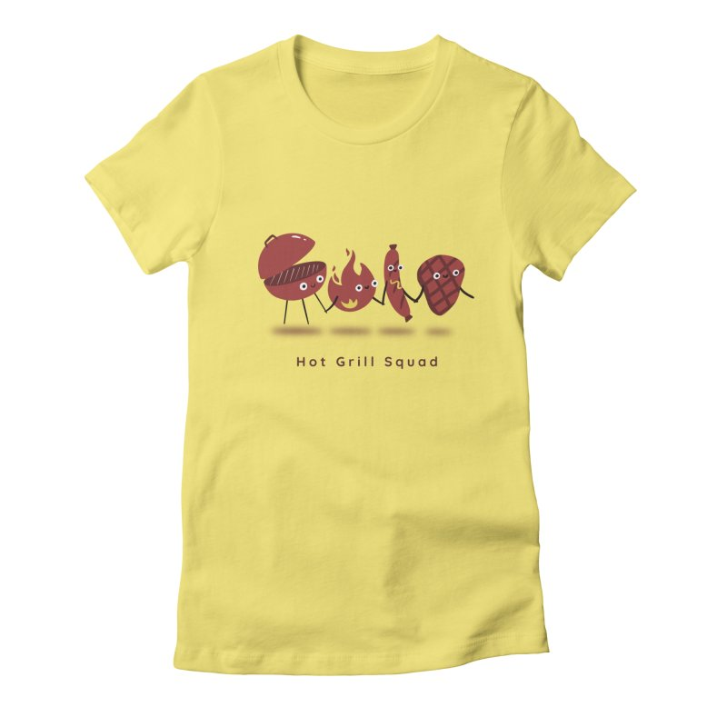 Hot Grill Squad Women's T-Shirt by agrimony // Aaron Thong