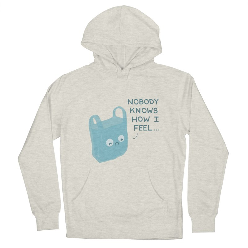 Do you ever feel Women's Pullover Hoody by agrimony // Aaron Thong
