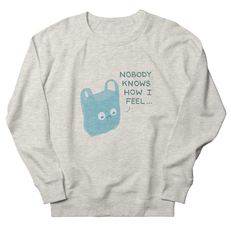 Do you ever feel Women's Sweatshirt by agrimony // Aaron Thong