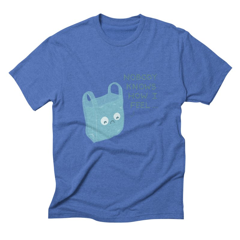 Do you ever feel Men's Triblend T-Shirt by agrimony // Aaron Thong
