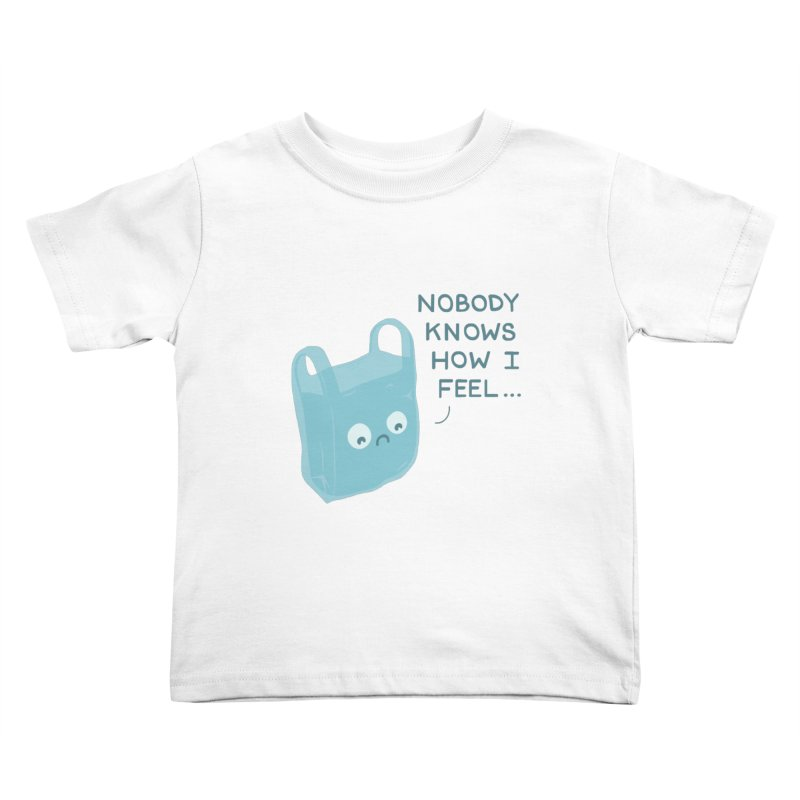 Do you ever feel Kids Toddler T-Shirt by agrimony // Aaron Thong