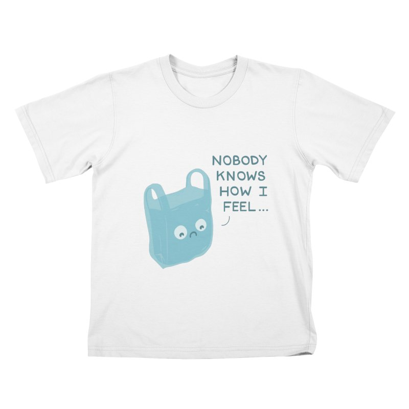 Do you ever feel Kids T-Shirt by agrimony // Aaron Thong
