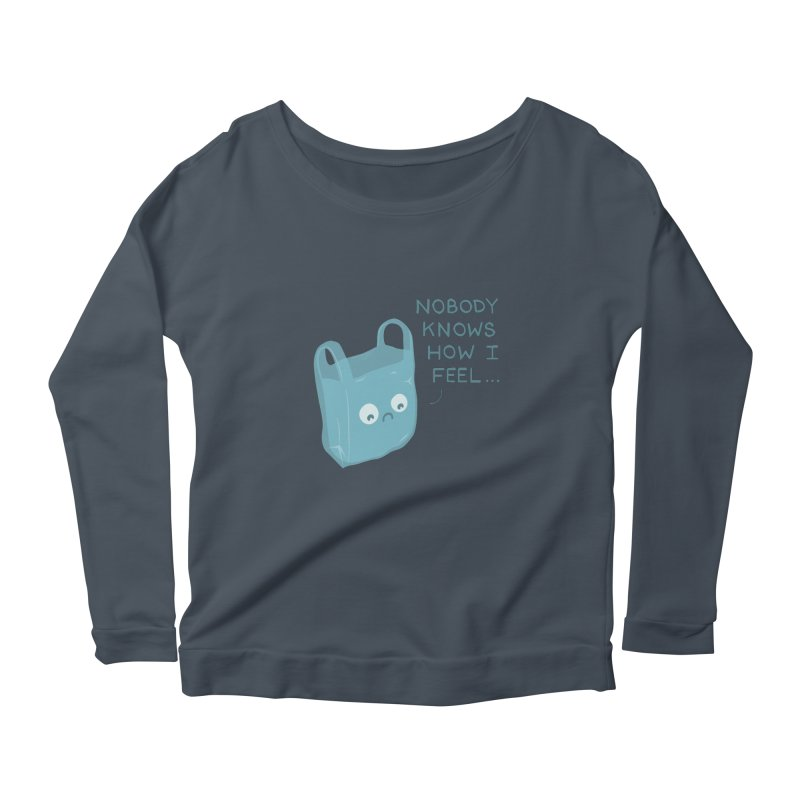 Do you ever feel Women's Longsleeve T-Shirt by agrimony // Aaron Thong