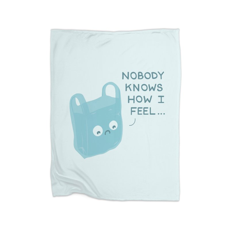 Do you ever feel Home Fleece Blanket Blanket by agrimony // Aaron Thong
