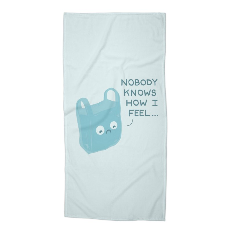 Do you ever feel Accessories Beach Towel by agrimony // Aaron Thong