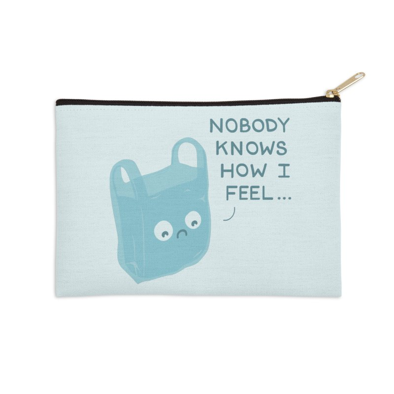 Do you ever feel Accessories Zip Pouch by agrimony // Aaron Thong
