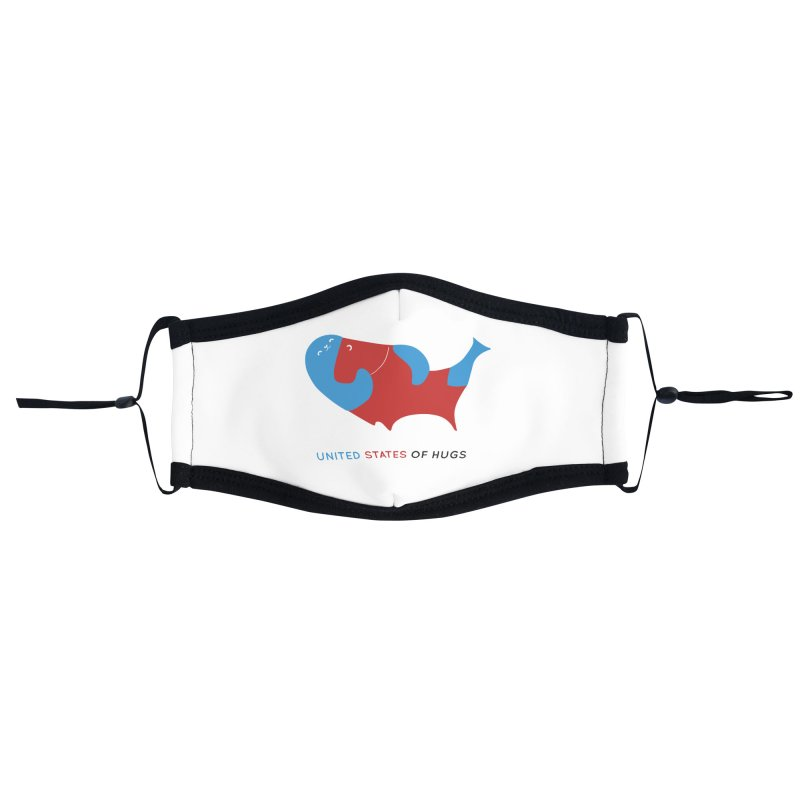 United States of Hugs Accessories Face Mask by agrimony // Aaron Thong