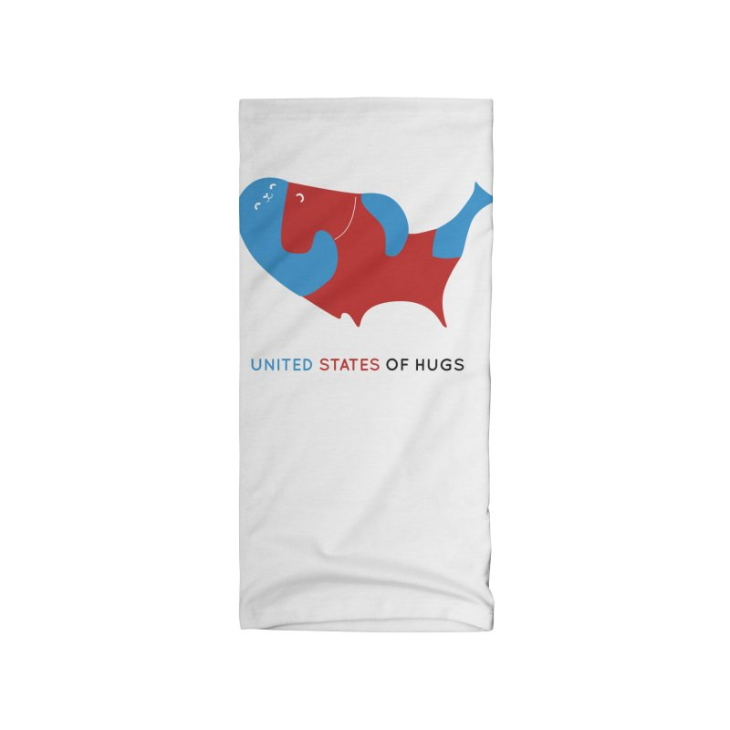 United States of Hugs Accessories Neck Gaiter by agrimony // Aaron Thong