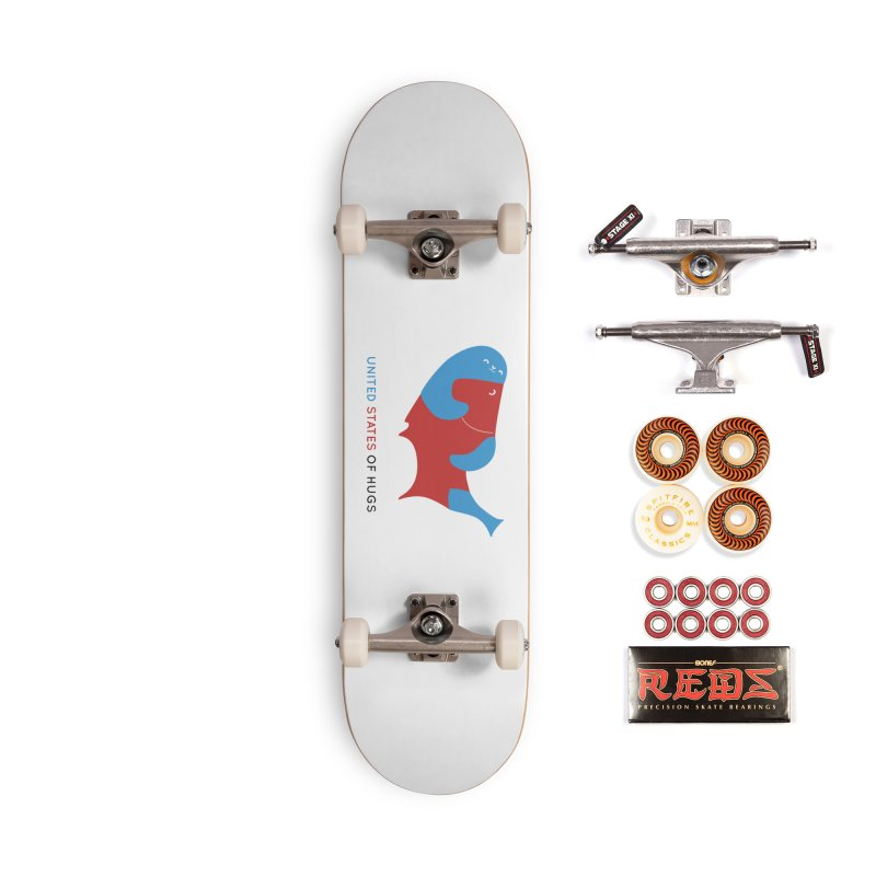 United States of Hugs Accessories Skateboard by agrimony // Aaron Thong