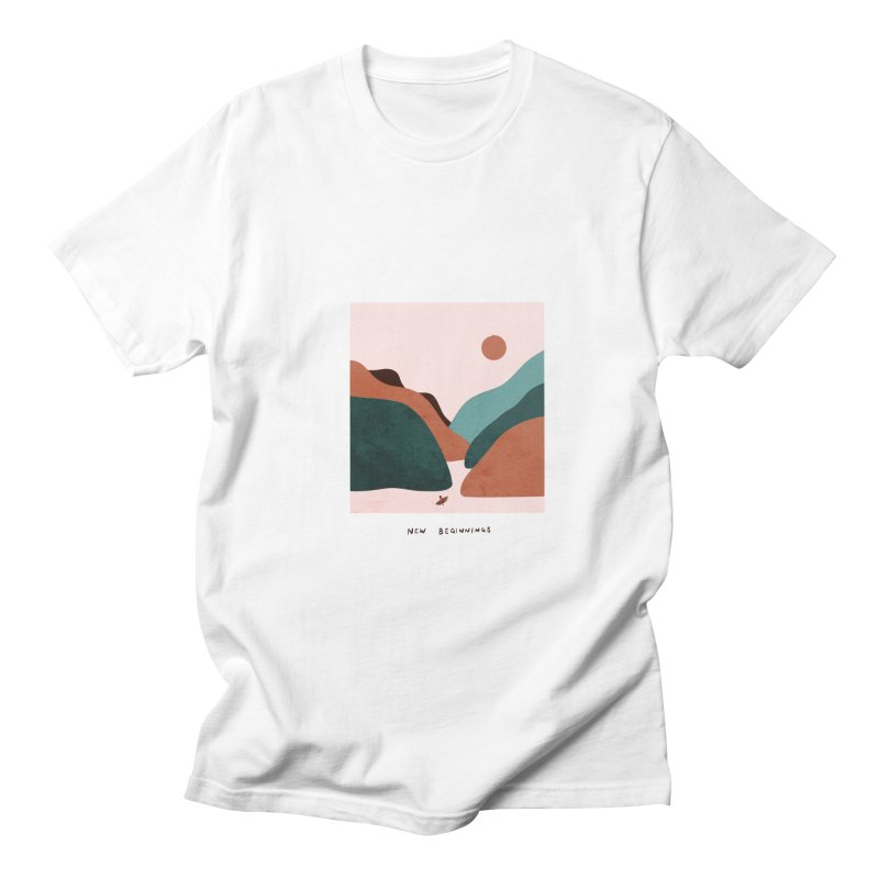 New Beginnings Men's T-Shirt by agrimony // Aaron Thong