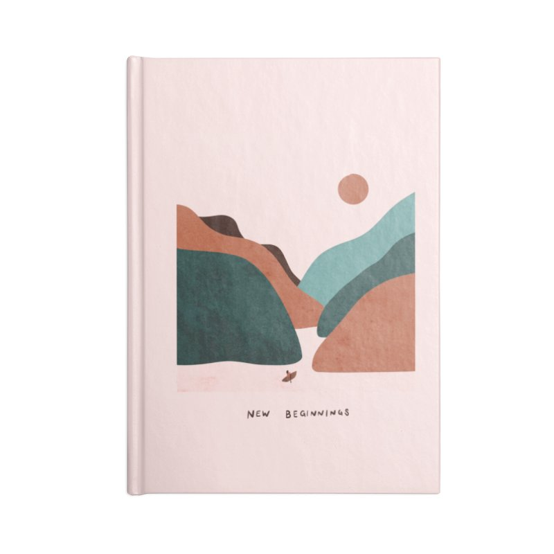 New Beginnings Accessories Notebook by agrimony // Aaron Thong