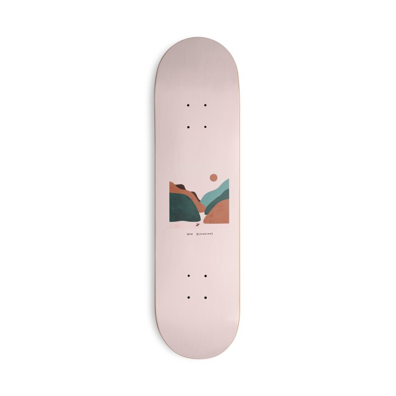 New Beginnings Accessories Skateboard by agrimony // Aaron Thong