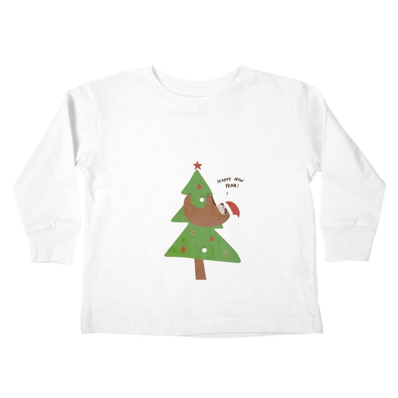Belated Greetings Kids Toddler Longsleeve T-Shirt by agrimony // Aaron Thong