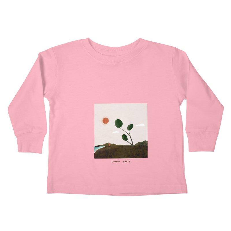 Strange Sights Kids Toddler Longsleeve T-Shirt by agrimony // Aaron Thong