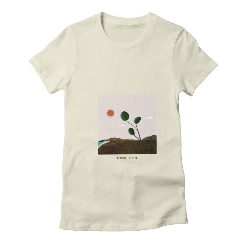 Strange Sights Women's T-Shirt by agrimony // Aaron Thong