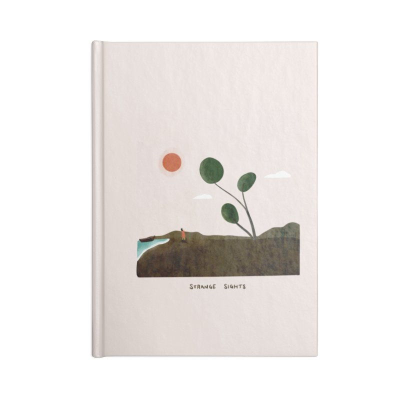 Strange Sights Accessories Notebook by agrimony // Aaron Thong