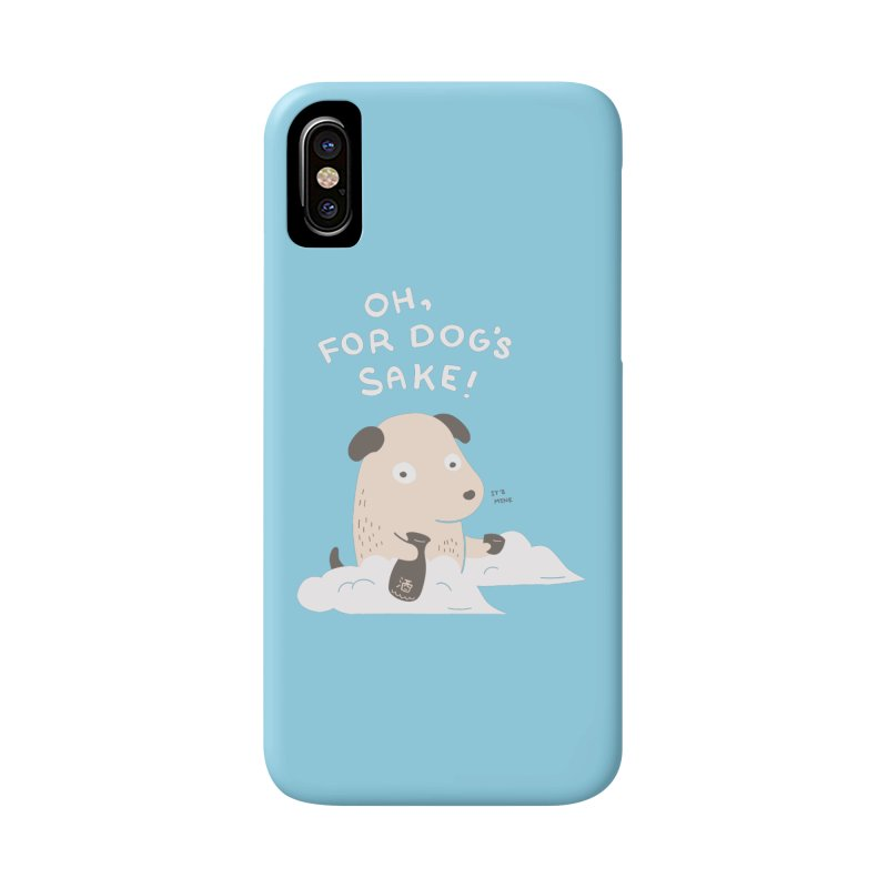 For Dog's Sake Accessories Phone Case by agrimony // Aaron Thong
