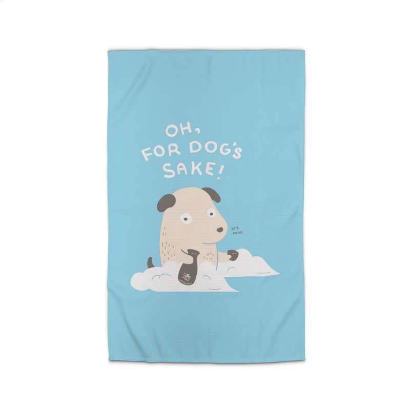 For Dog's Sake Home Rug by agrimony // Aaron Thong
