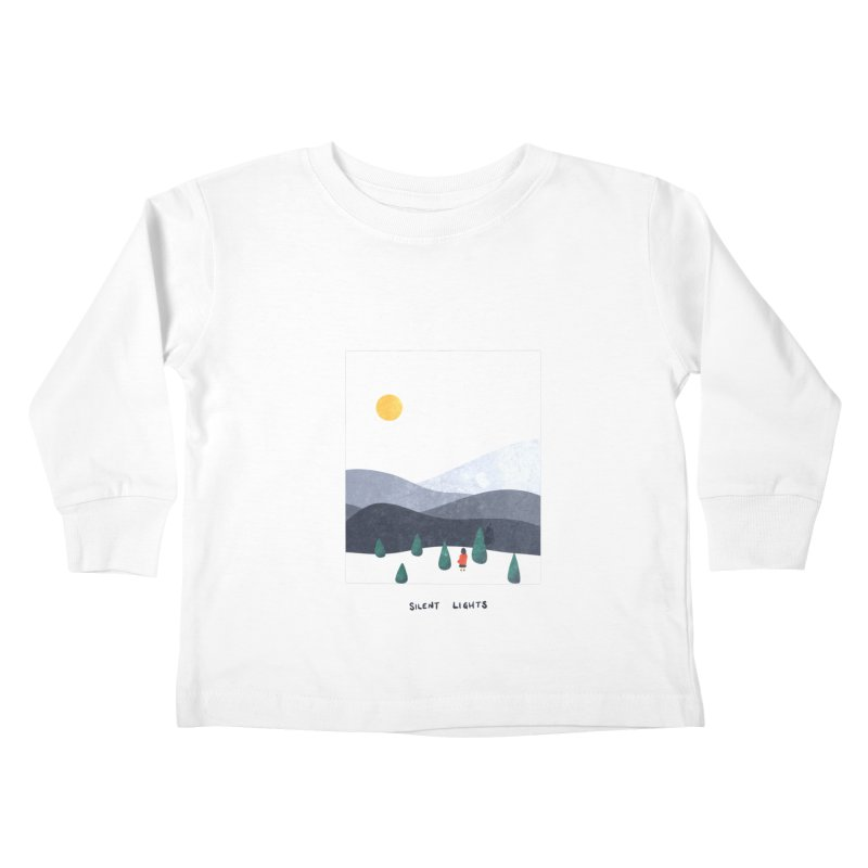 Silent Lights Kids Toddler Longsleeve T-Shirt by agrimony // Aaron Thong