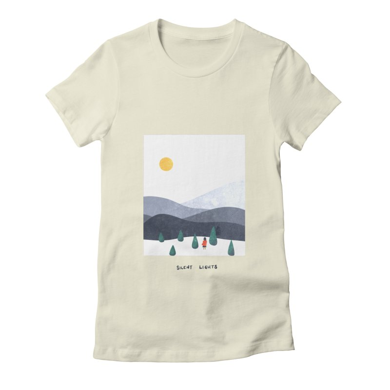 Silent Lights Women's T-Shirt by agrimony // Aaron Thong