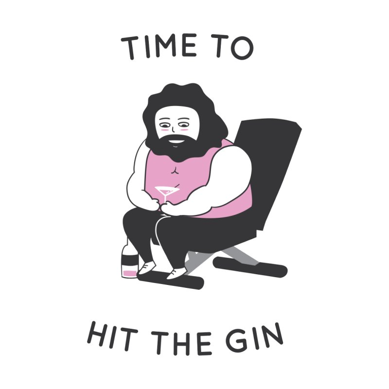 Time to Hit the Gin Accessories Mug by agrimony // Aaron Thong