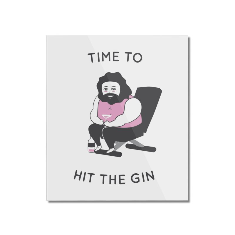 Time to Hit the Gin Home Mounted Acrylic Print by agrimony // Aaron Thong