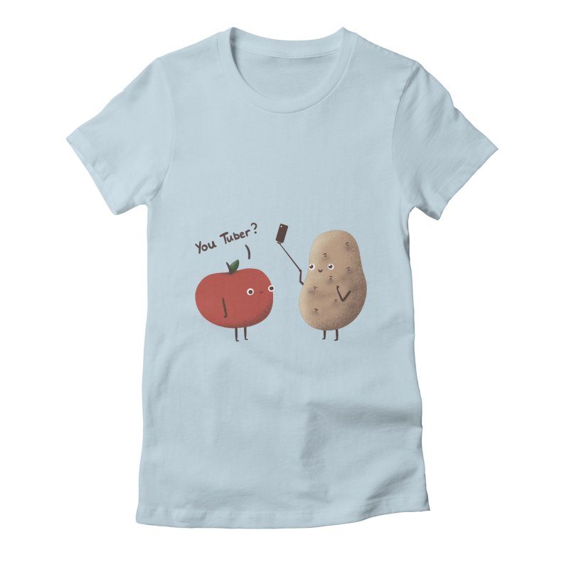 You Tuber Women's T-Shirt by agrimony // Aaron Thong