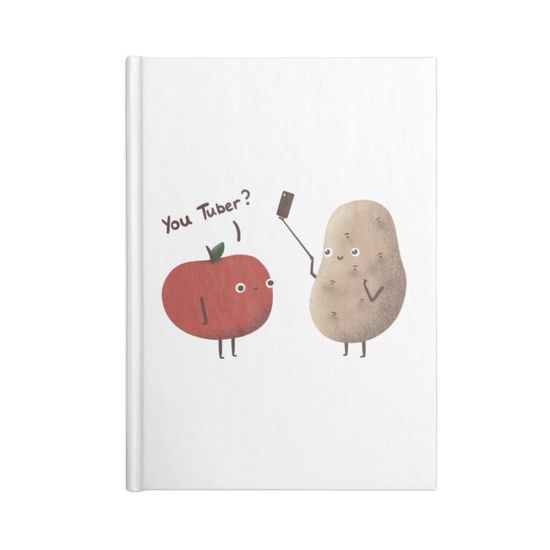 You Tuber Accessories Notebook by agrimony // Aaron Thong
