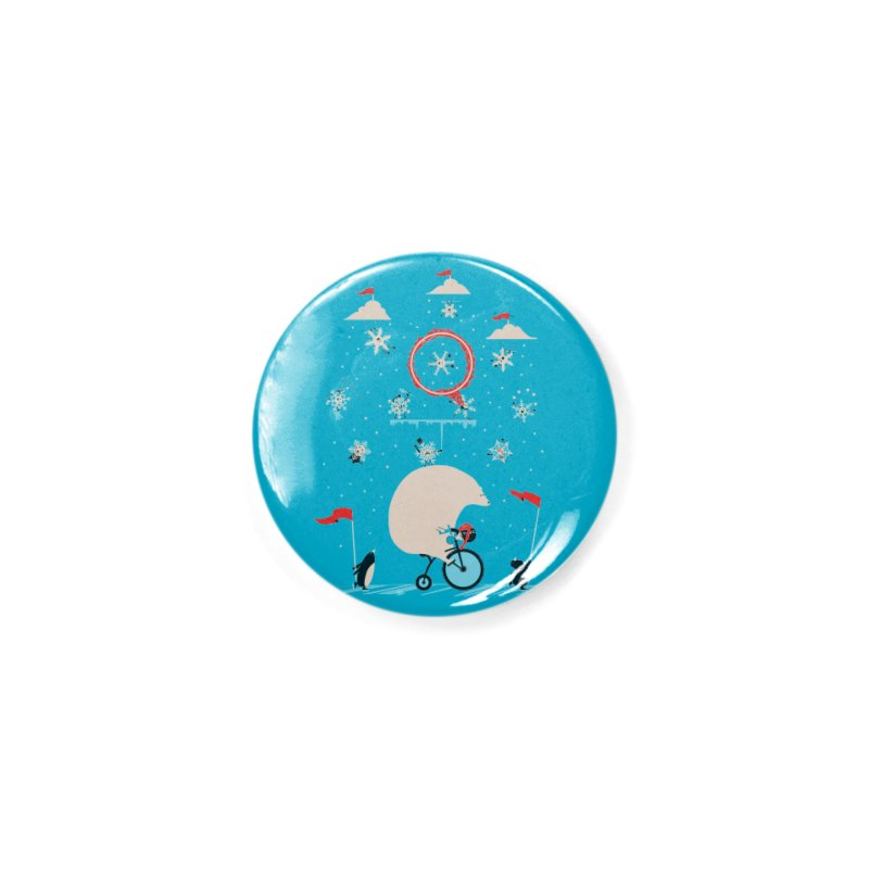 Arctic Circus Accessories Button by agrimony // Aaron Thong