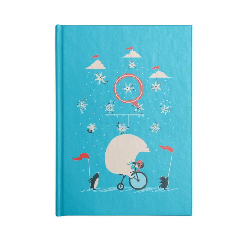 Arctic Circus Accessories Notebook by agrimony // Aaron Thong