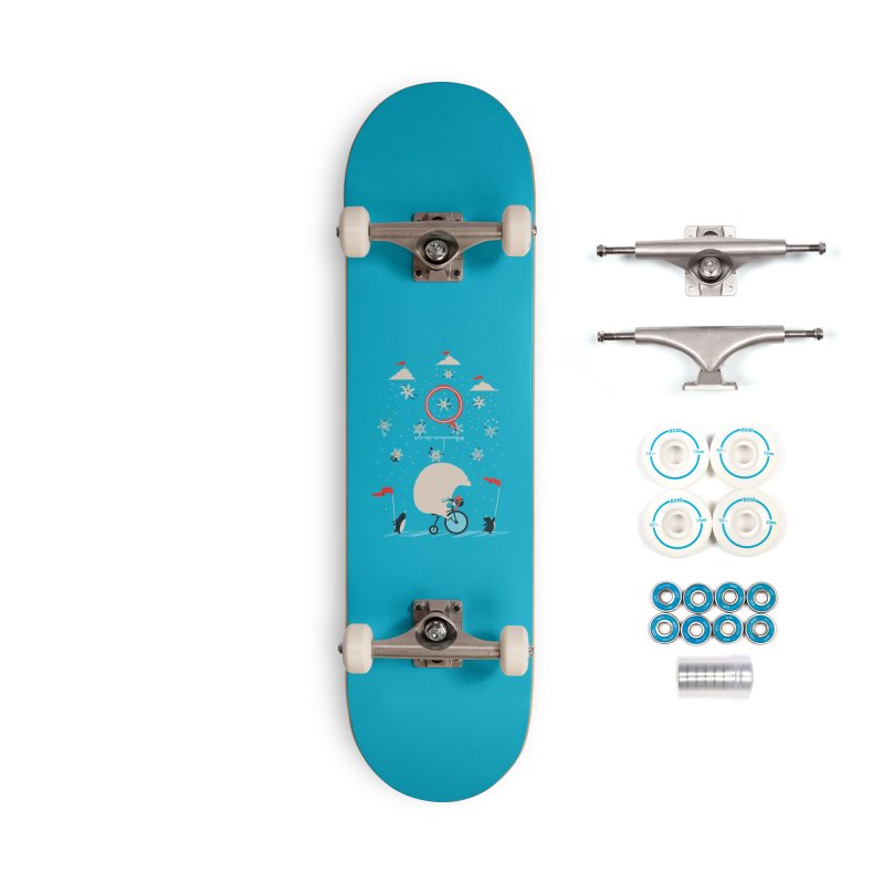 Arctic Circus Accessories Skateboard by agrimony // Aaron Thong