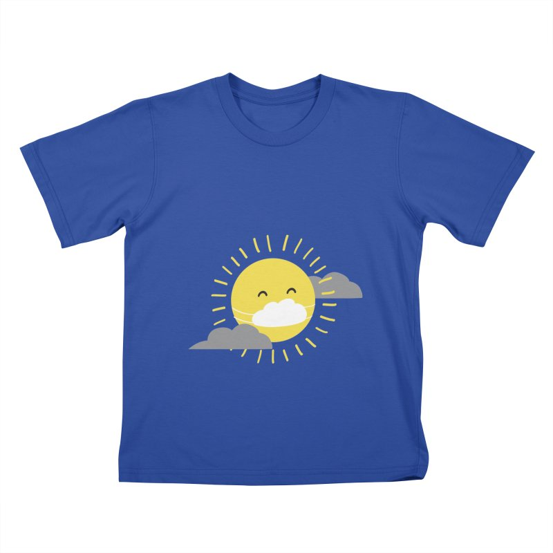 The Sun Will Shine Again Kids T-Shirt by agrimony // Aaron Thong