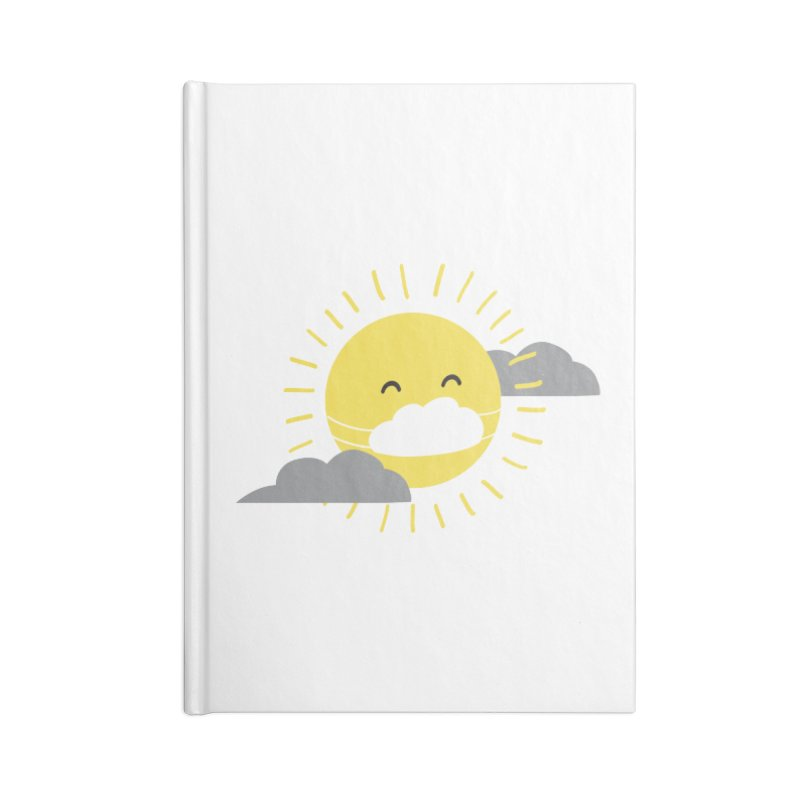 The Sun Will Shine Again Accessories Notebook by agrimony // Aaron Thong