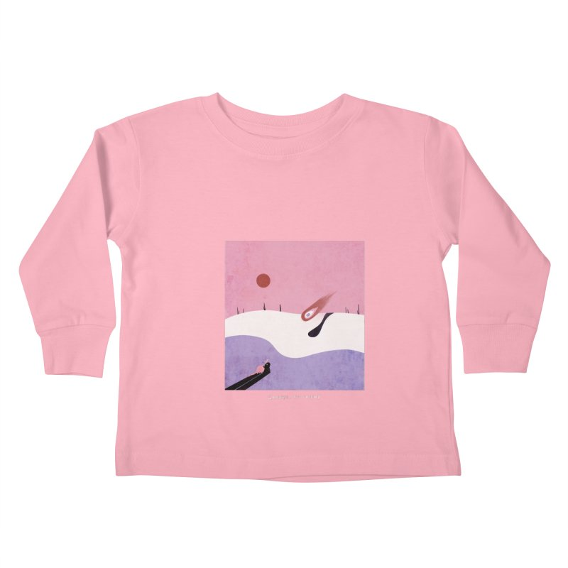 Goodbye, Old Friend Kids Toddler Longsleeve T-Shirt by agrimony // Aaron Thong