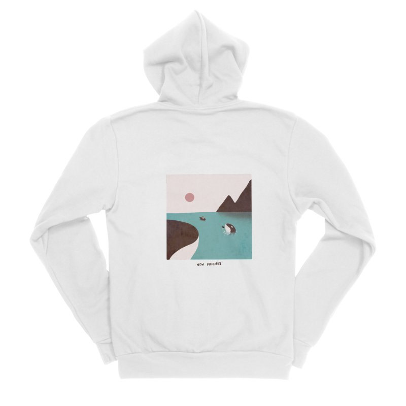 New Friends Women's Zip-Up Hoody by agrimony // Aaron Thong
