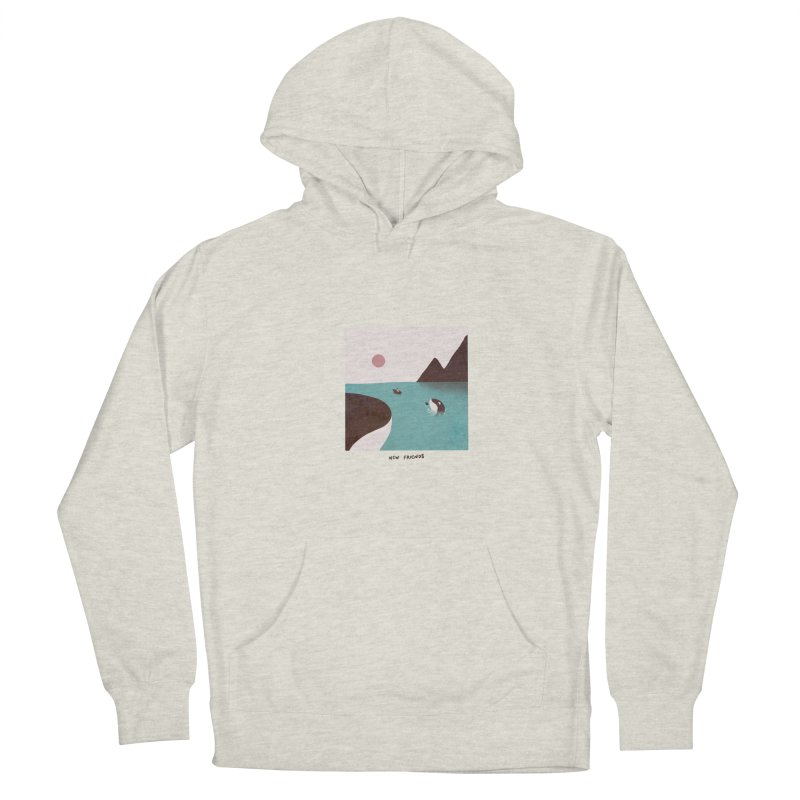 New Friends Men's Pullover Hoody by agrimony // Aaron Thong