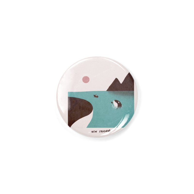 New Friends Accessories Button by agrimony // Aaron Thong