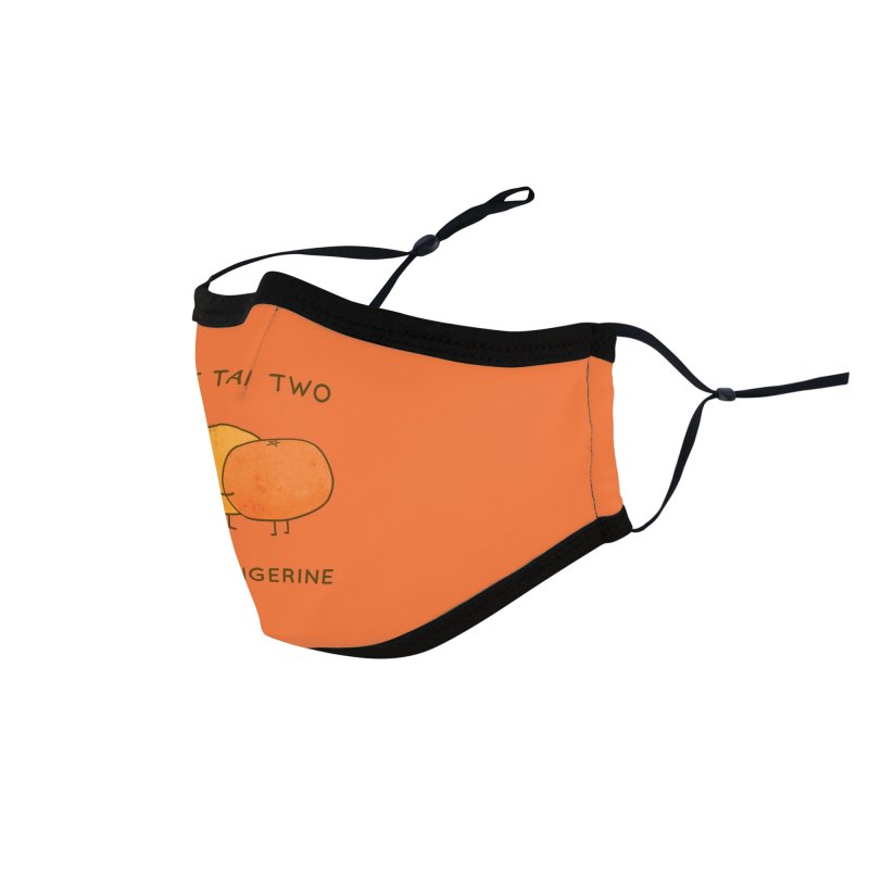 It Takes Two to Tangerine Accessories Face Mask by agrimony // Aaron Thong