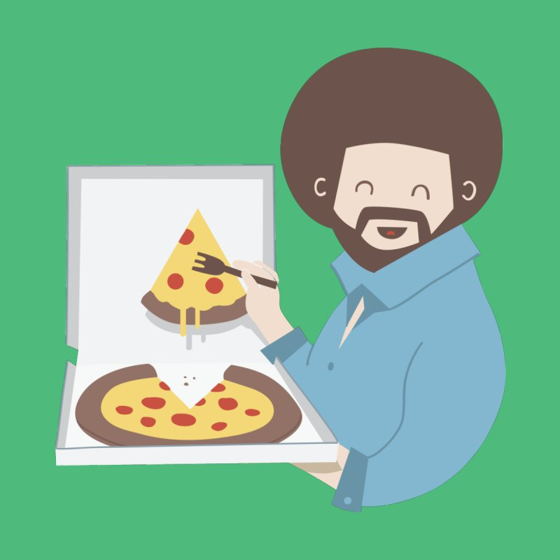 The Joy of Pizza Kids T-Shirt by agrimony // Aaron Thong