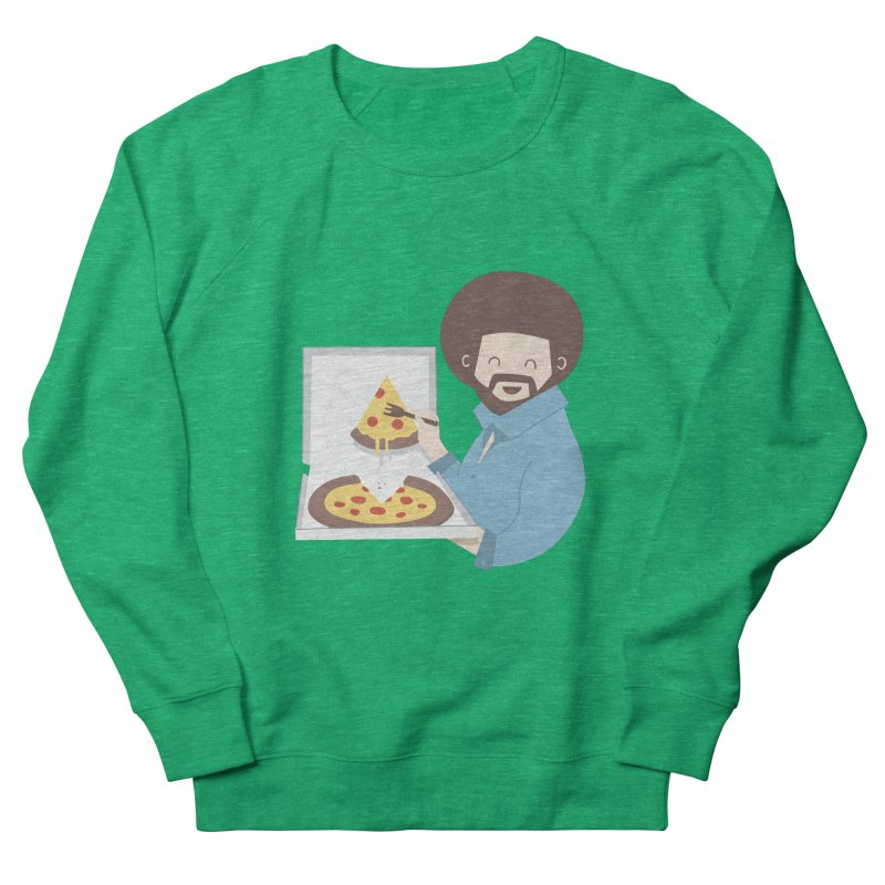 The Joy of Pizza Men's Sweatshirt by agrimony // Aaron Thong