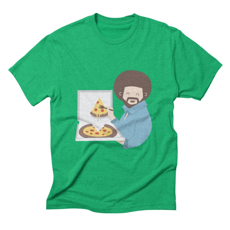 The Joy of Pizza Men's Triblend T-Shirt by agrimony // Aaron Thong