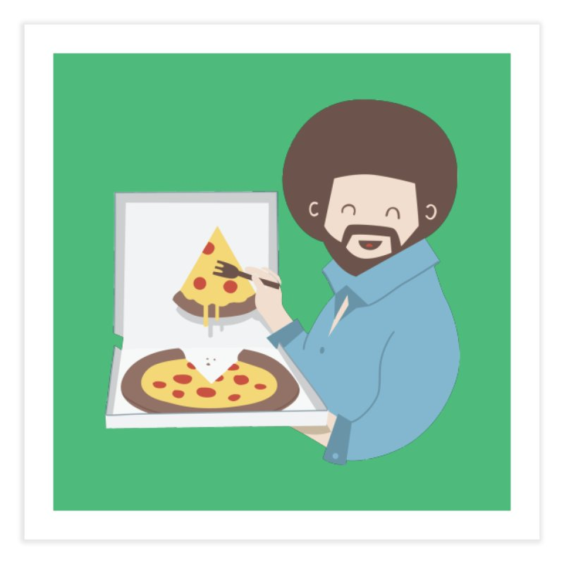 The Joy of Pizza Home Fine Art Print by agrimony // Aaron Thong