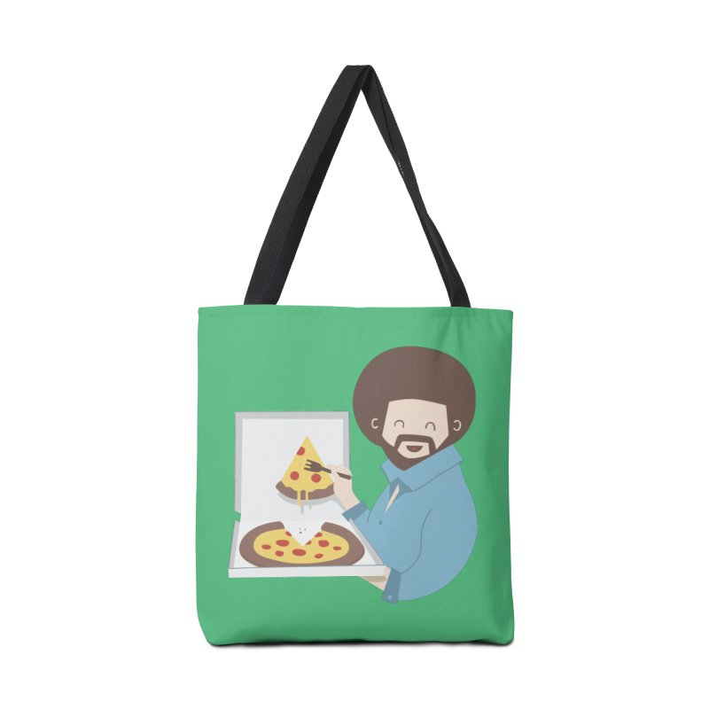 The Joy of Pizza Accessories Bag by agrimony // Aaron Thong