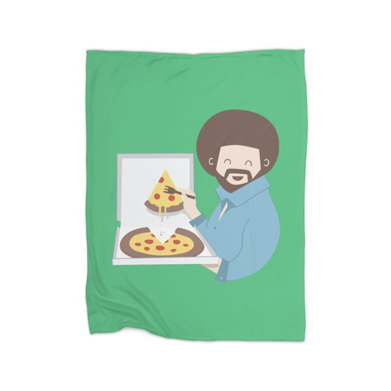 The Joy of Pizza Home Blanket by agrimony // Aaron Thong