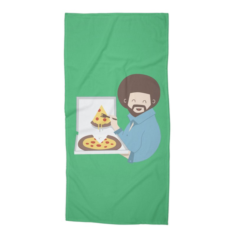 The Joy of Pizza Accessories Beach Towel by agrimony // Aaron Thong