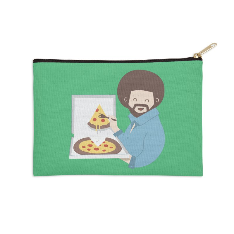 The Joy of Pizza Accessories Zip Pouch by agrimony // Aaron Thong