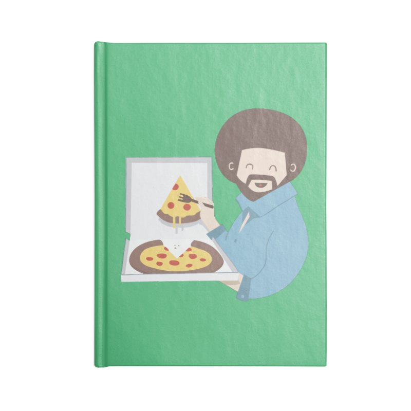 The Joy of Pizza Accessories Notebook by agrimony // Aaron Thong