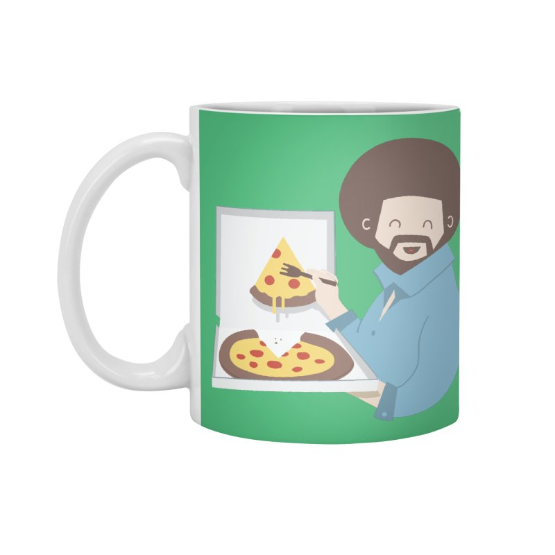 The Joy of Pizza Accessories Mug by agrimony // Aaron Thong