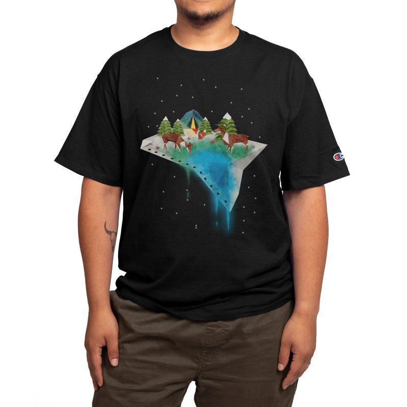 Oragama - Night Men's T-Shirt by agrimony // Aaron Thong